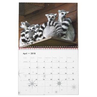 Calendário Destinos selvagens do destino da casa da boa vinda