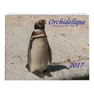 Calendário do animal de Orchidelique 2017