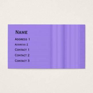Calendário do bolso do design das listras cartão de visitas