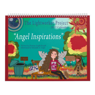 """Calendário Do """"calendário das inspirações"""" 2017 anjo"""