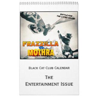 Calendário do clube do gato preto, a edição do
