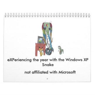 Calendário do cobra 2017 de Windows XP