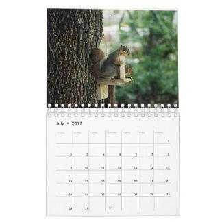 Calendário do esquilo