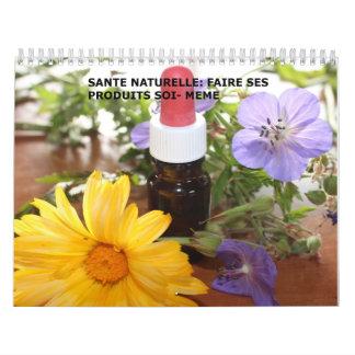 calendário do naturelle do sante