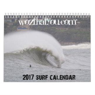 Calendário do norte do surf de 2017 praias -