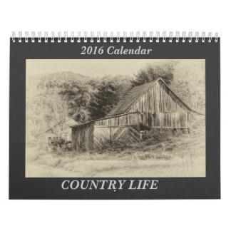 Calendário do país 2018 de Carolina