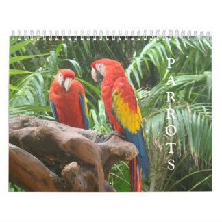Calendário do papagaio