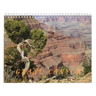 Calendário do parque nacional do Grand Canyon