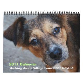 Calendário do salvamento 2011 de BHVF