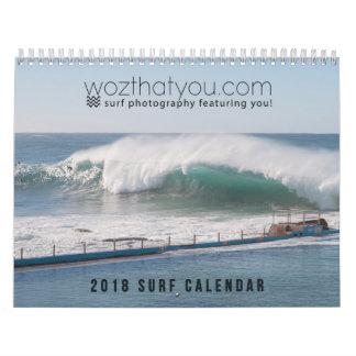 calendário do surf de wozthatyou.com 2018