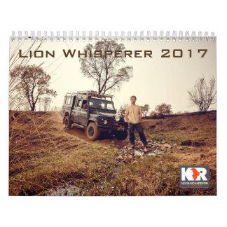 Calendário do Whisperer 2017 do leão