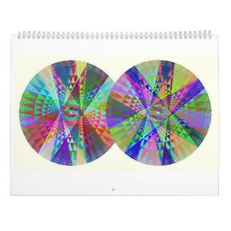 Calendário dobro, triplo, quádruplo do arco-íris