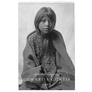Calendário dos americanos nativos 2018 de Edward