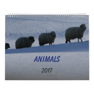 Calendário dos animais domésticos