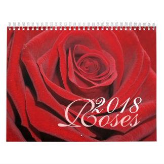 Calendário dos rosas 2018