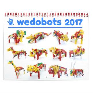 calendário dos wedobots 2017