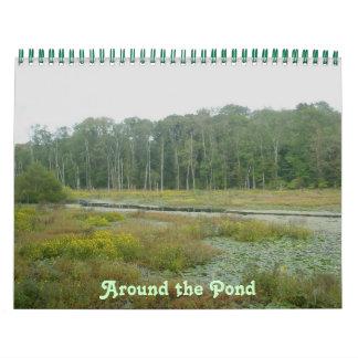 Calendário - em torno da lagoa