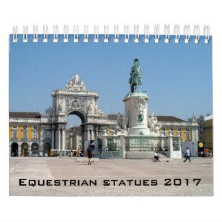Calendário equestre das estátuas - 2017