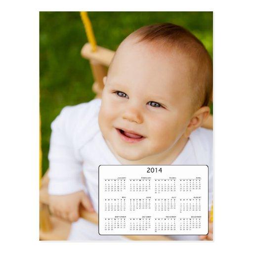 Calendário feito sob encomenda da foto 2014 do tam cartão postal
