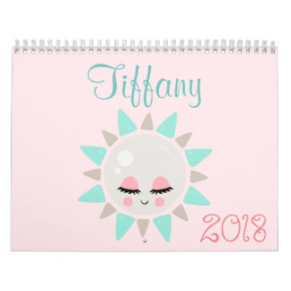 Calendário Felicidade 2018 de Kawaii