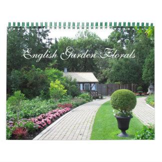 Calendário floral do jardim inglês