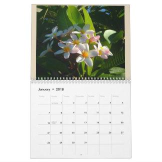 Calendário Flores bonitas