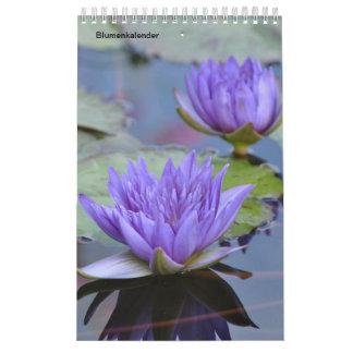Calendário Flores como kalender