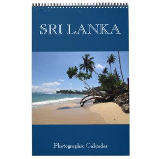 Calendário fotografia de Sri Lanka