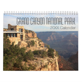 Calendário Fotografia do parque nacional do Grand Canyon