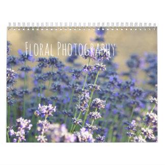 Calendário Fotografia floral