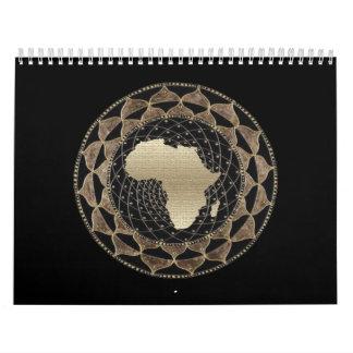 Calendário Galeria de arte africana