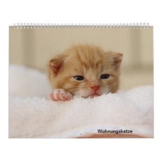 Calendário Gato de domicílio