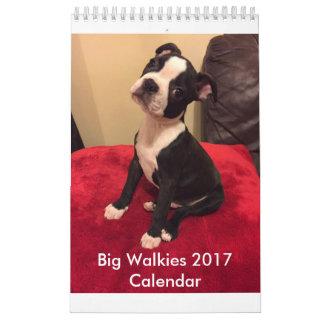 Calendário grande 2017 de Walkies