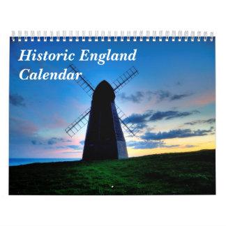Calendário histórico de Inglaterra