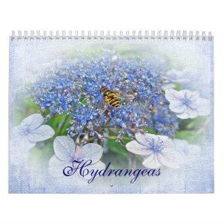 Calendário - Hydrangeas