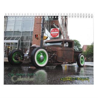 Calendário Imagens da feira automóvel da fotografia do