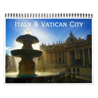 Calendário Italia e Cidade do Vaticano 2018