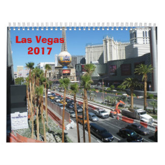 Calendário Las Vegas - 2017
