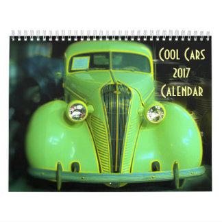 Calendário legal dos carros 2017