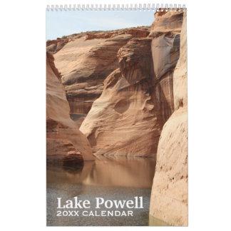 Calendário Lembrança da fotografia do viagem de Powell do