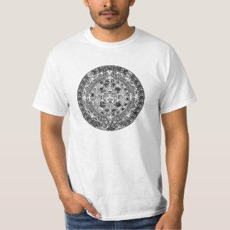 Calendário maia camiseta
