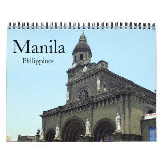 Calendário manila 2018