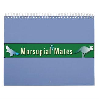 Calendário marsupial dos companheiros
