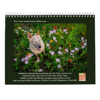 Calendário Matilda e as flores