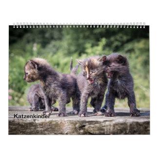 Calendário Meninos de gato