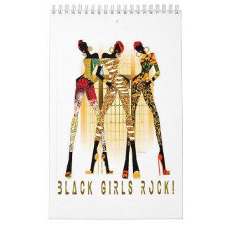Calendário Mulheres africanas