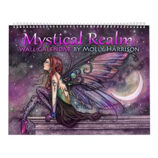 Calendário Mystical da fada da fantasia do reino