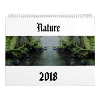 Calendário Natureza 2018