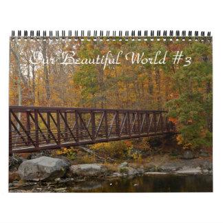 Calendário - nosso mundo bonito #3