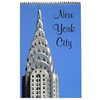 Calendário Nova Iorque
